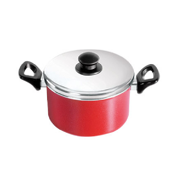 Pot With Aluminum Lid